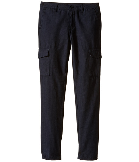 Vince Kids - Tweed Cargos (Big Kids) (Heather Carbon) Boy's Casual Pants