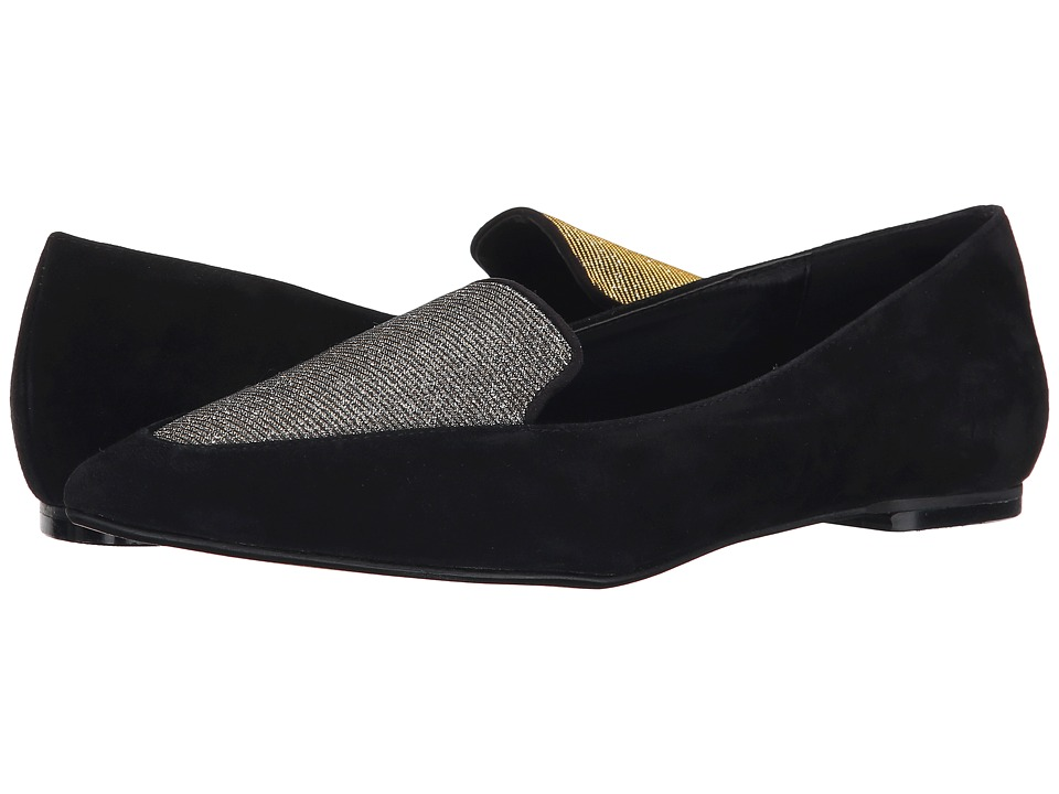 Dune London - Austine (Black Suede/Lurex) Women