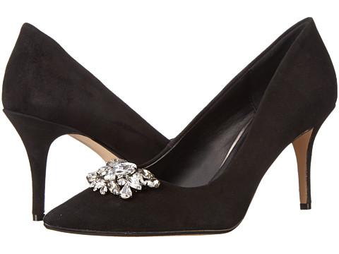 Dune London - Belles (Black Suede) Women's Shoes