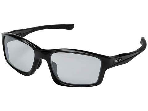 Oakley - Chainlink (Polorized Black/Clear) Sport Sunglasses