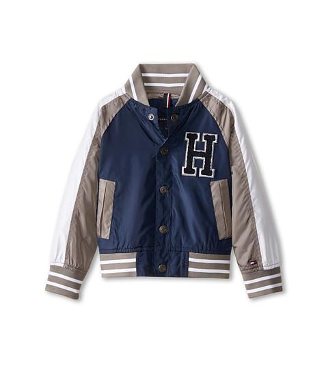 Tommy Hilfiger Kids - Baseball Jacket (Toddler/Little Kids) (Swim Navy) Boy