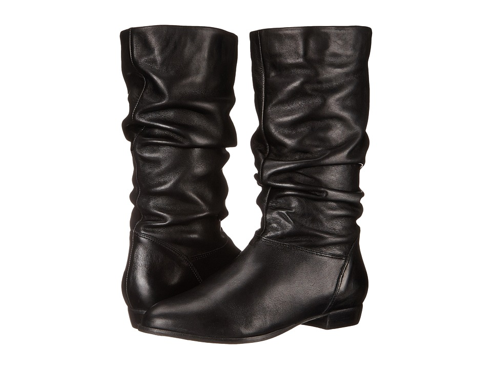 Dune London - Relissa (Black Leather) Women's Pull-on Boots
