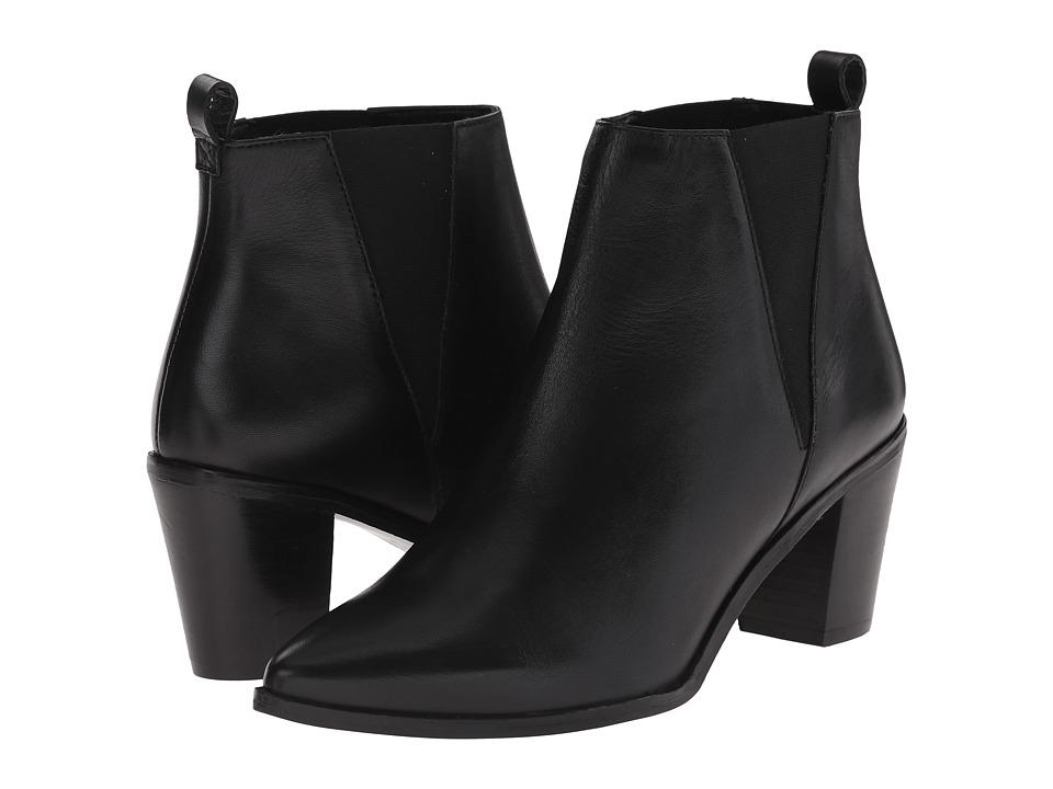 Dune London - Preslee (Black Leather) Women's Shoes