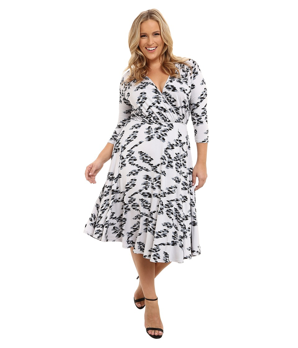 Rachel Pally Plus - Plus Size Cookie Dress (Black Ikat) Women's Dress