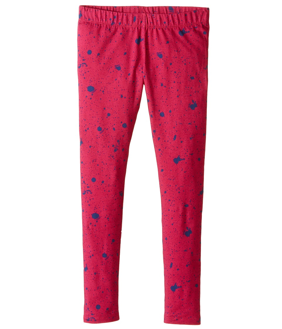 Fendi Kids - Leggings w/ Dots (Little Kids) (Blue) Girl's Clothing