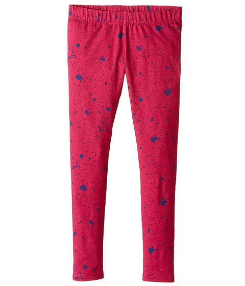 Fendi Kids - Leggings w/ Dots (Little Kids) (Blue) Girl
