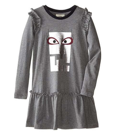 Fendi Kids - Logo Dress w/ Eye (Toddler) (Pink) Girl's Dress