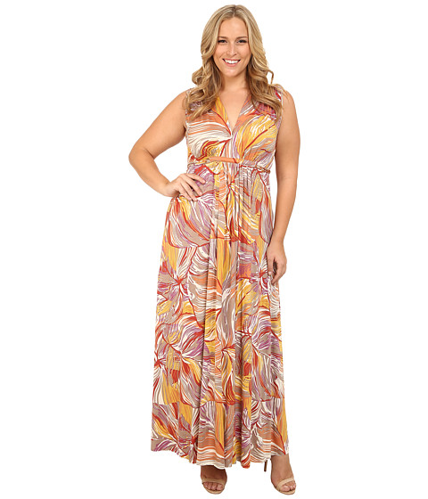 Rachel Pally Plus - Plus Size Sleeveless Caftan (Magnolia) Women's Sleeveless