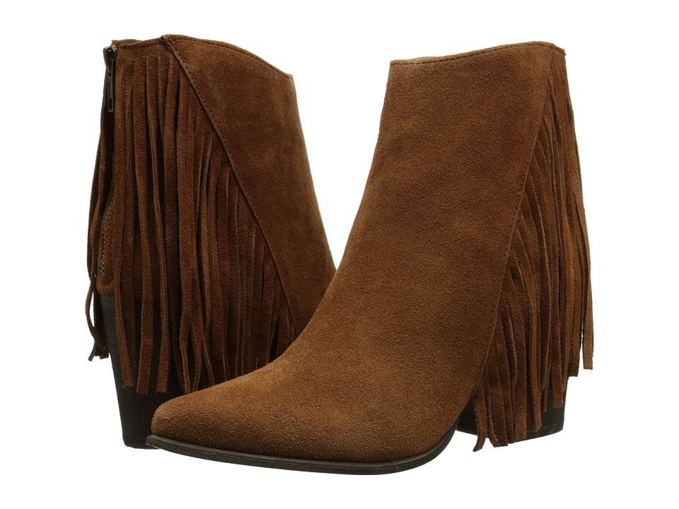 Steve Madden - Countryy (Chestnut Suede) Women's Dress Zip Boots