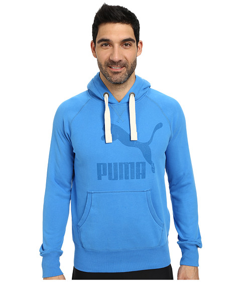 PUMA - Archive Logo Hoodie (French Blue) Men
