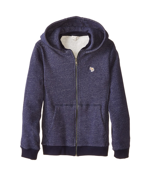 Paul Smith Junior - Navy Chine Matching Hoodie (Toddler/Little Kids/Big Kids) (Dark Navy) Boy