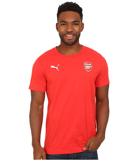 PUMA - AFC Fan Tee - Badge Tee (High Risk Red) Men