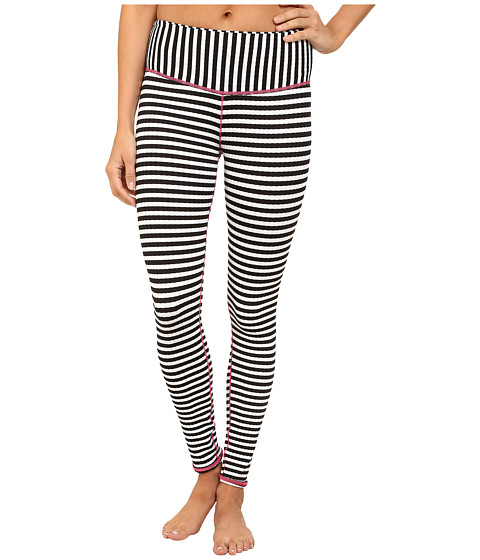 Volcom - Broken Lines Leggings (Black) Women