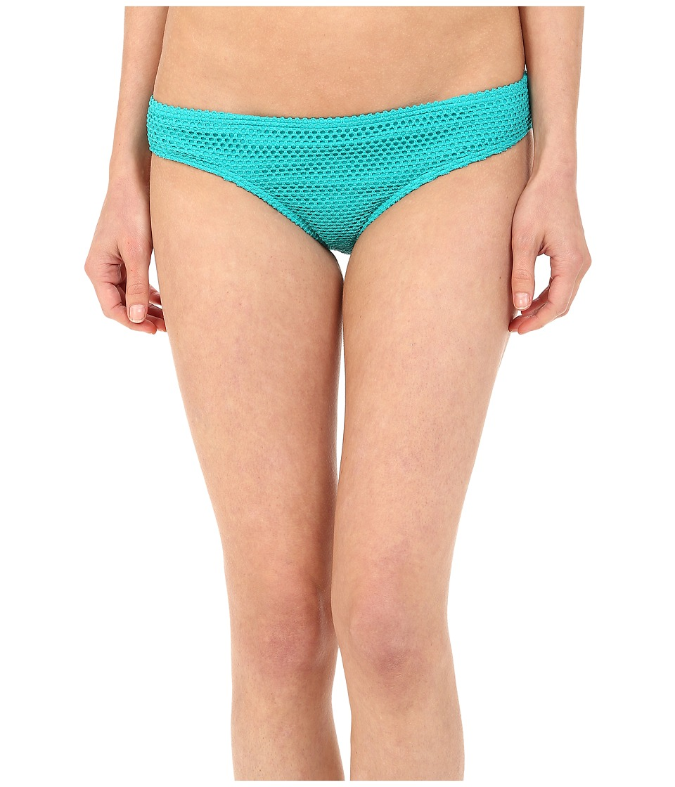 Roxy - Festival Fun Cheeky Mini Bikini Bottom (Festival Fun Crochet Jade) Women's Swimwear