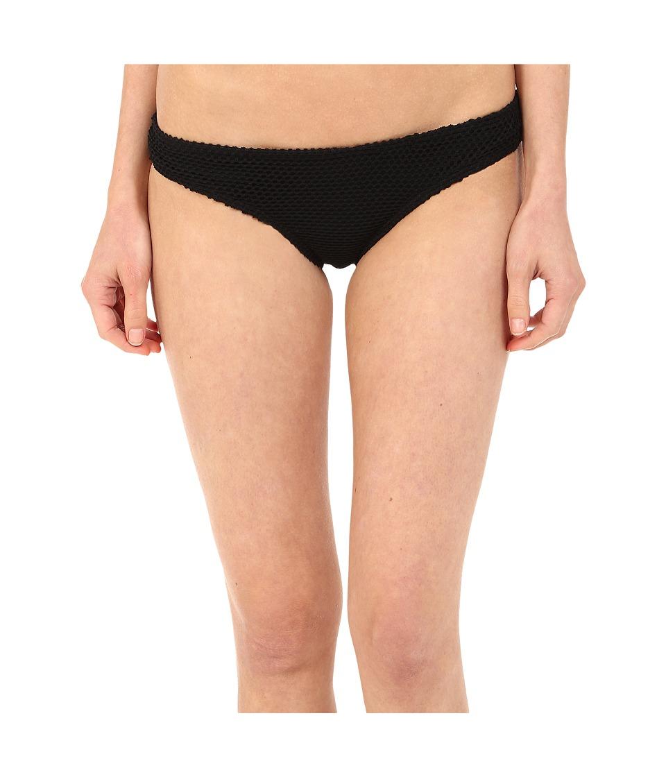 Roxy Festival Fun Cheeky Mini Bikini Bottom (Festival Fun True Black) Women