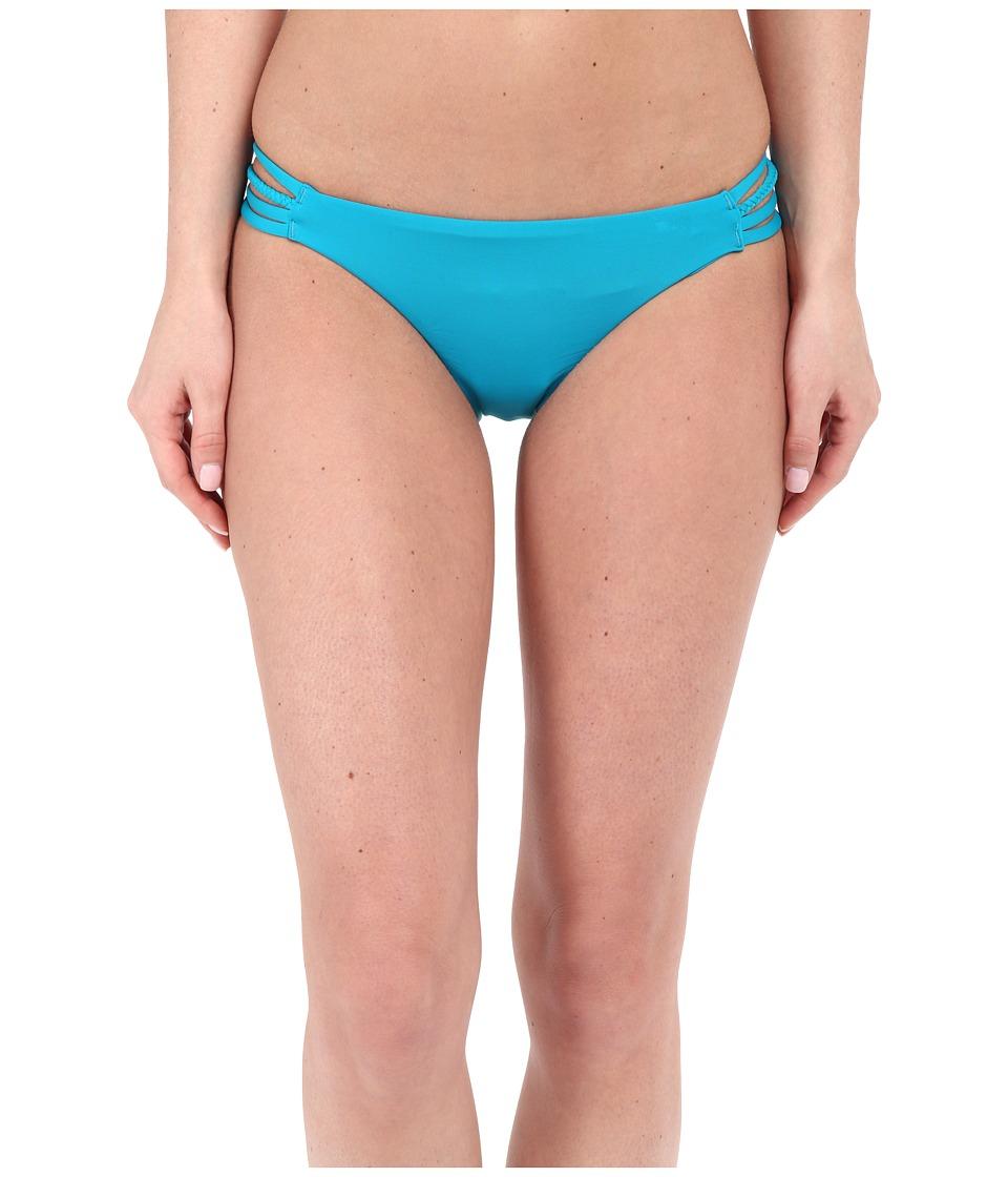 Roxy - Sunset Paradise Heart Bottoms (Dark Jade) Women's Swimwear