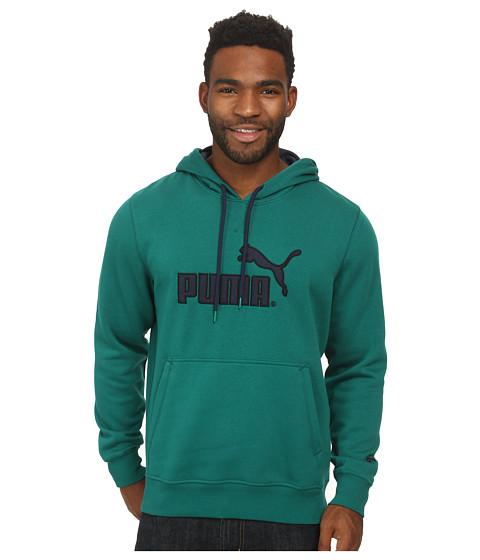 PUMA - Hoodie (Alpine Green/Peacoat) Men's Sweatshirt