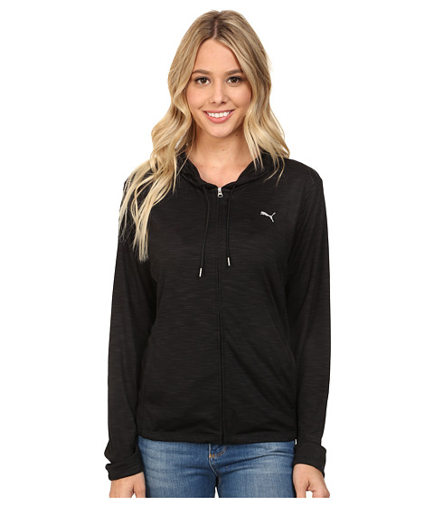 PUMA - WT Loose Jacket (Black) Women's Coat