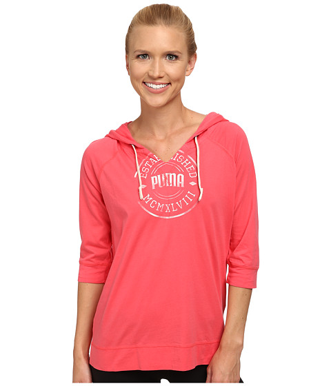 PUMA - Lightweight Cover-Up (Paradise Pink) Women's Clothing