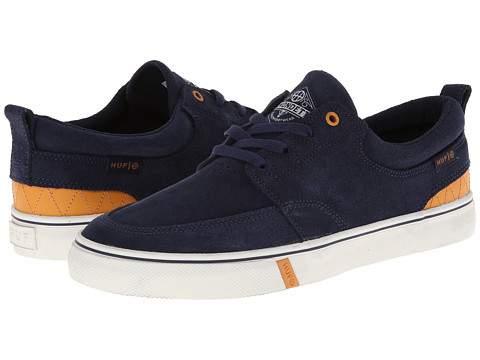 HUF - Ramondetta Pro (Navy Gold) Men's Shoes