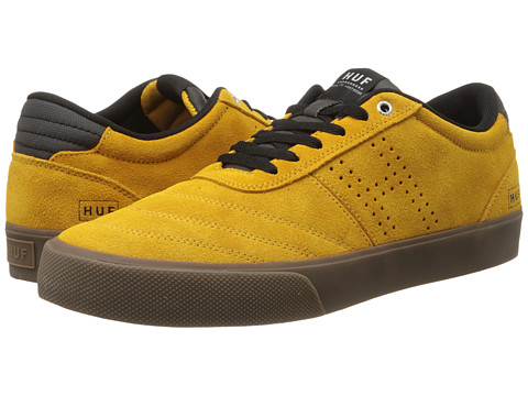 HUF - Galaxy (Mustard / Black) Men's Skate Shoes