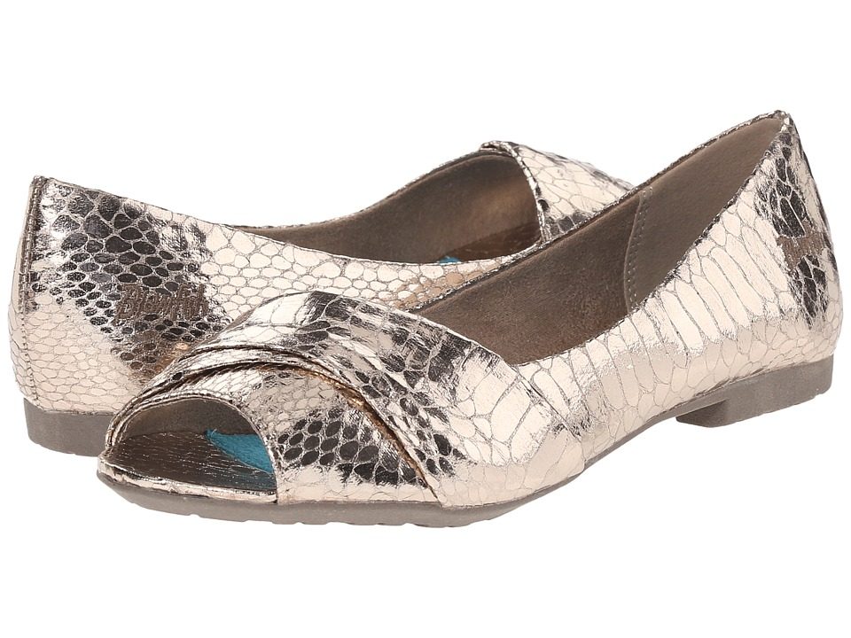 Blowfish - Rale (Pewter Metallic Snakepint PU) Women