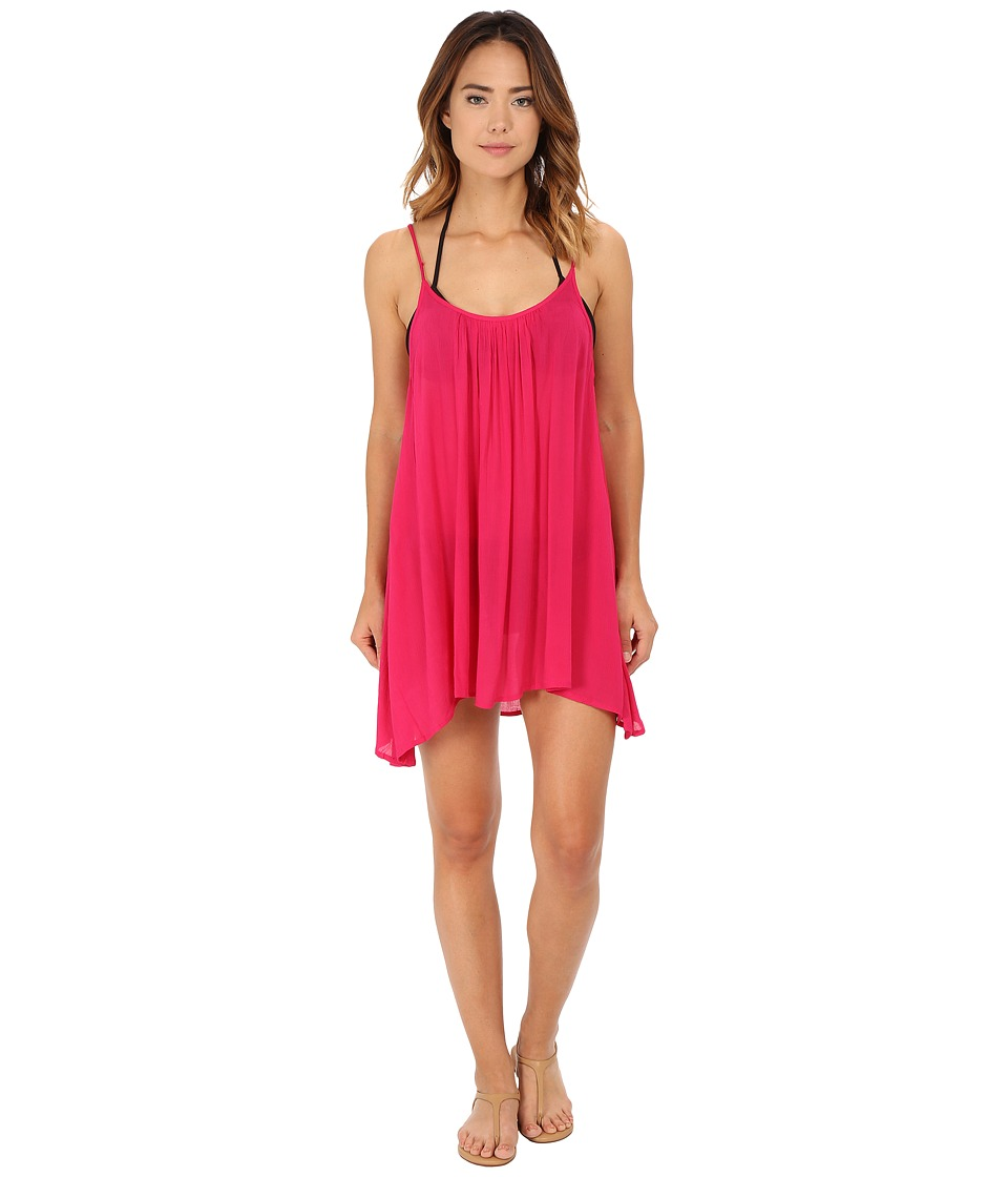 Roxy - Sweet Vida Dress Cover-Up (Cherry) Women's Swimwear