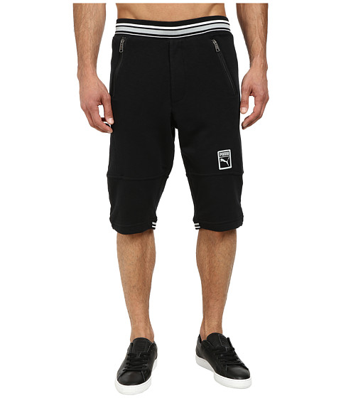 PUMA - MMQ Progressive Shorts (Black) Men's Shorts