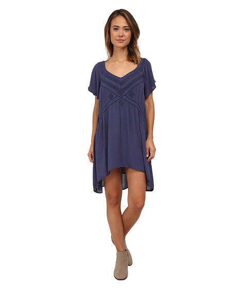 Amuse Society - Kit Dress (Faded Indigo) Women's Dress