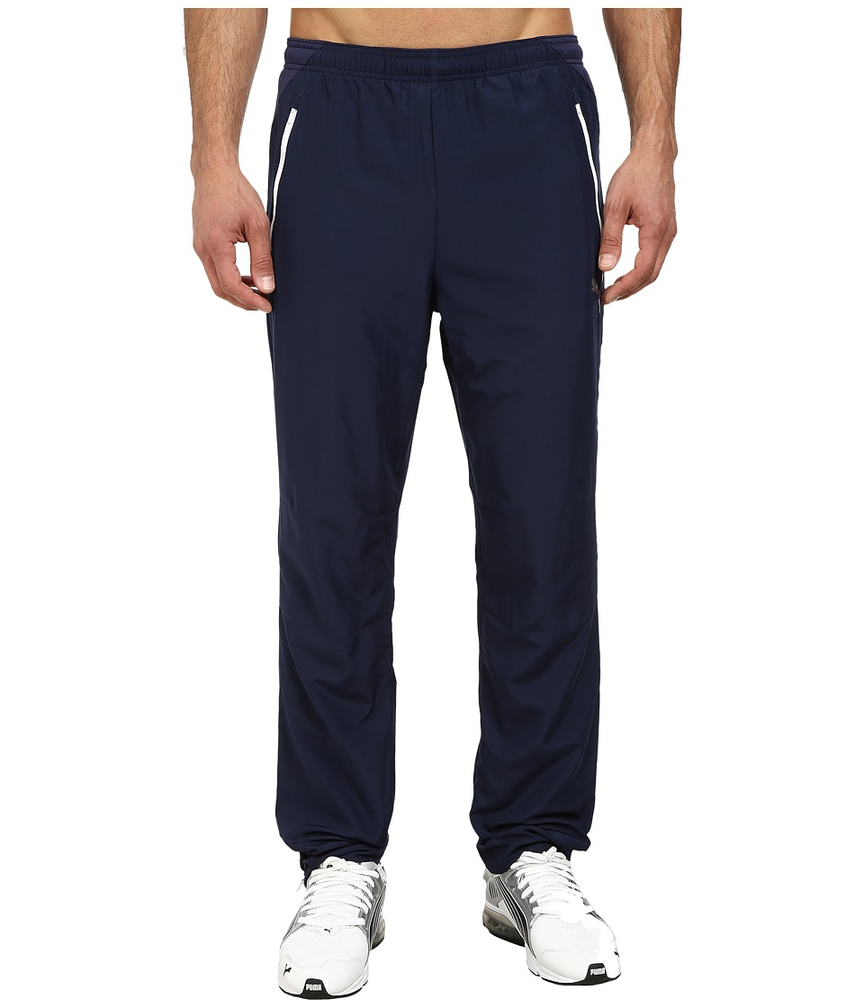PUMA - IT evoPOWER Woven Pants (Peacoat) Men's Casual Pants