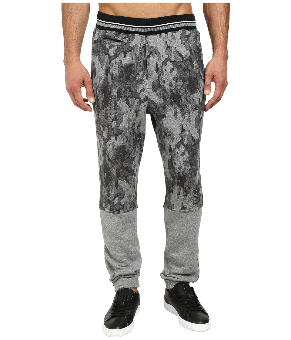 PUMA - MMQ Progressive Pants (Medium Gray Heather) Men's Casual Pants