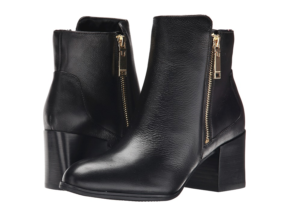Tommy Hilfiger - Dita (Black Leather) Women