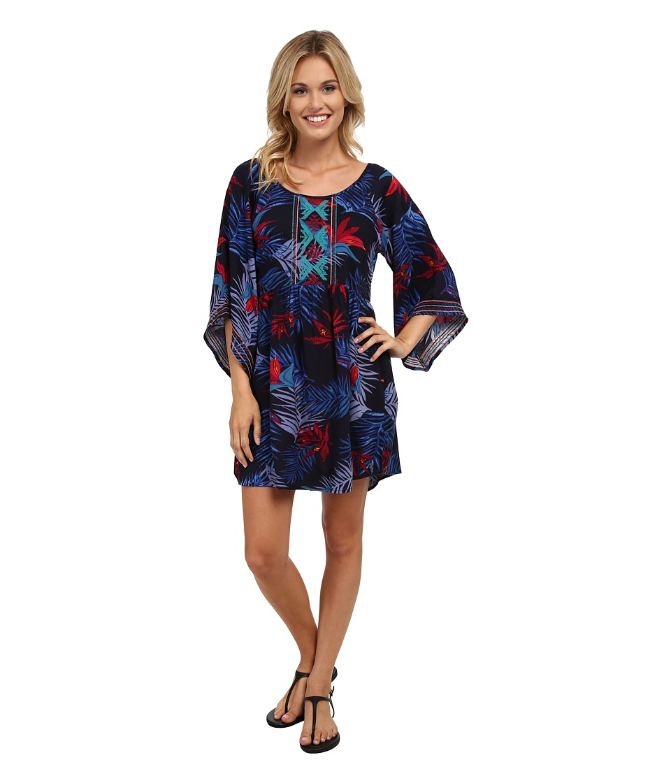 Roxy - Sunset City Dress (Midnight Palm) Women's Dress