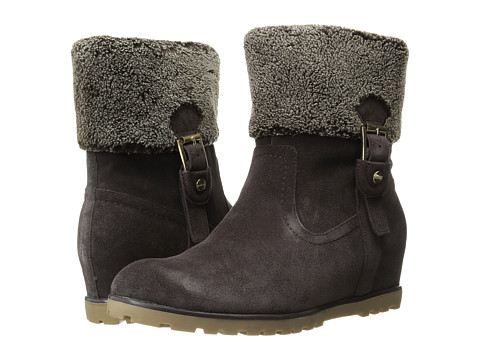 Tommy Hilfiger - Soffia (Dark Brown Suede) Women