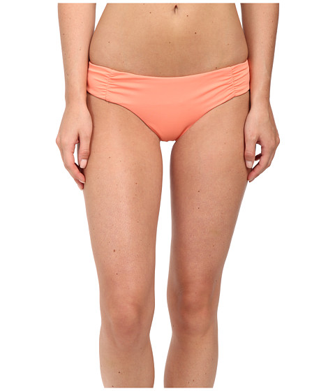 Roxy - Cheeky Scooter Swim Bottoms (Sunkissed Coral) Women's Swimwear