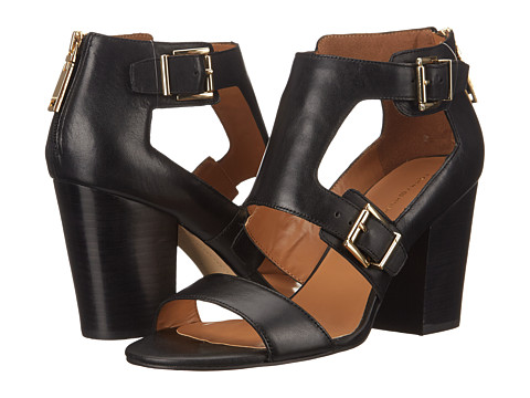 Tommy Hilfiger - Kalinda (Black Leather) High Heels