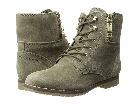 Tommy Hilfiger - Minny (Olive) Women's Lace-up Boots