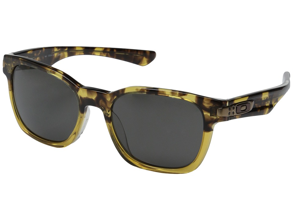 Oakley - Garage Rock LX (Asian Fit) (Yellow Fade/Dark Grey) Sport Sunglasses