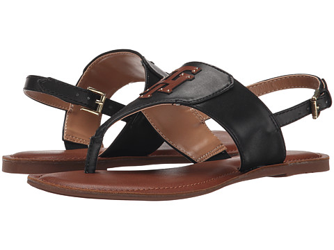 Tommy Hilfiger - Laney (Black/Montana) Women's Sandals