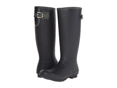 Tommy Hilfiger - Malya (Black/Dark Olive) Women's Rain Boots