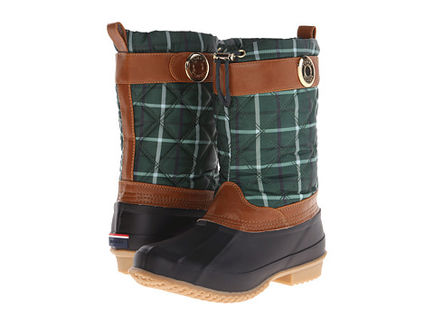 Tommy Hilfiger - Arcadia (Green Multi Plaid) Women's Shoes