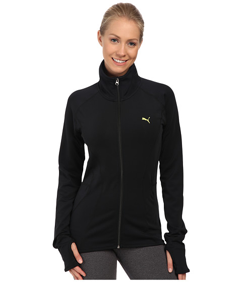 PUMA - Fitness Jacket (Black) Women's Coat