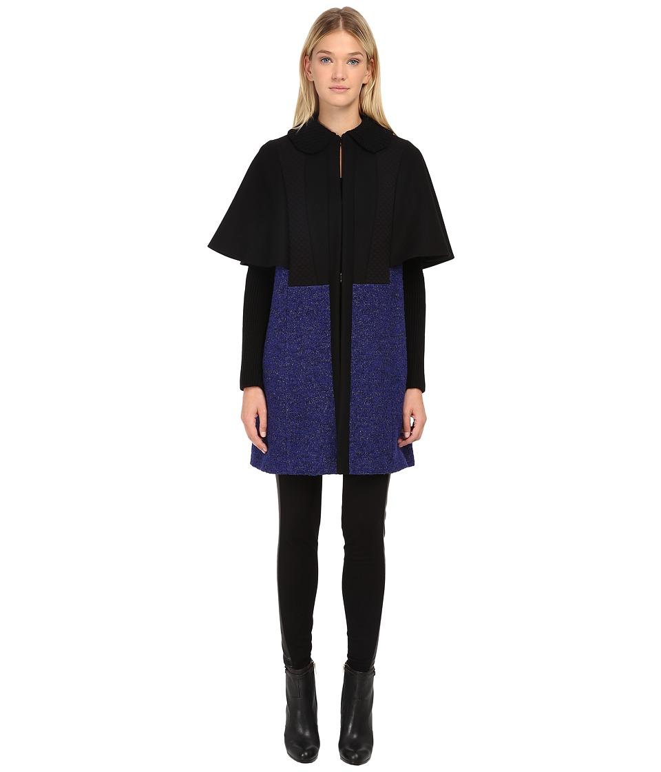 M Missoni - Wool Coat (Violet) Women