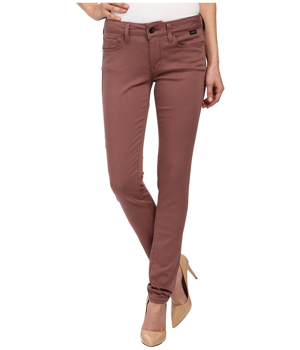 Mavi Jeans - Alexa in Deep Mauve Gold Sateen (Deep Mauve Gold Sateen) Women's Jeans