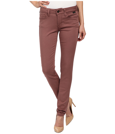 Mavi Jeans - Alexa in Deep Mauve Gold Sateen (Deep Mauve Gold Sateen) Women