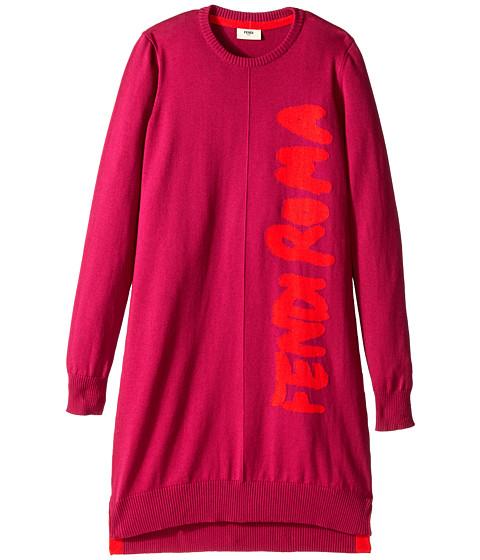 Fendi Kids - Dress Femme Roma (Big Kids) (Red) Girl's Dress