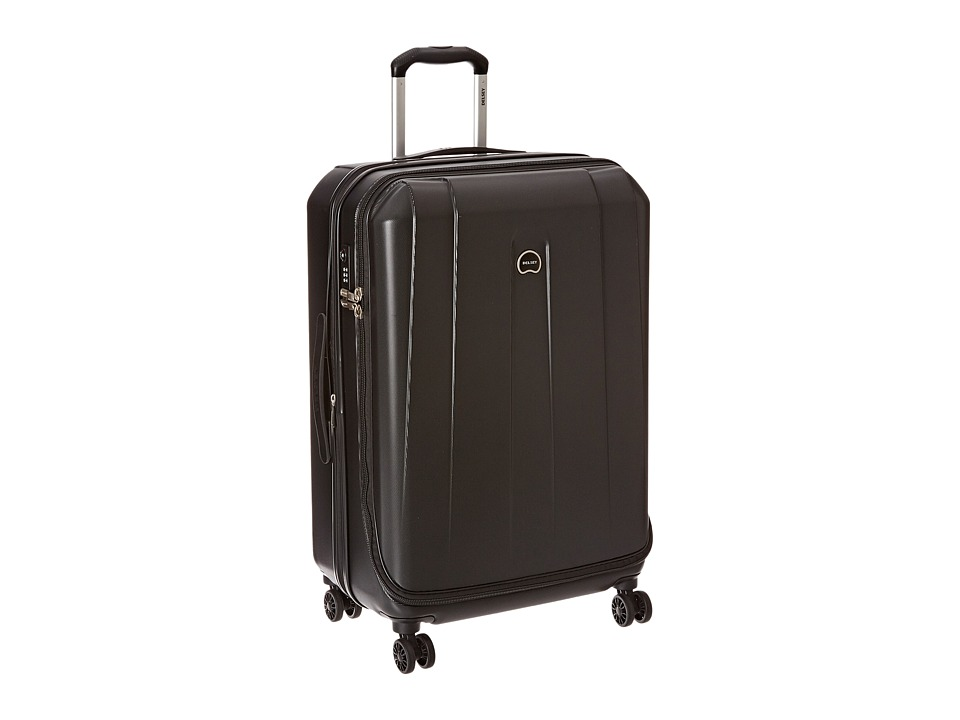 Delsey - Helium Shadow 3.0-25 Expandable Spinner Suiter Trolley (Black) Luggage