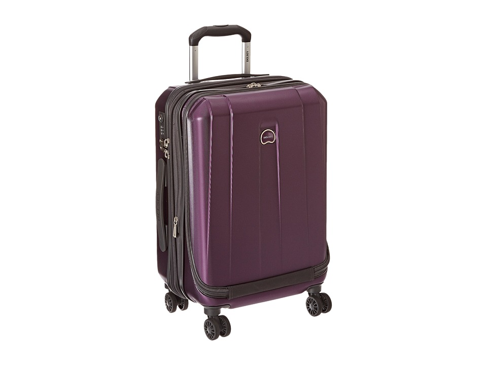 Delsey - Helium Shadow 3.0-19 International Carry-On Expandable Spinner Suiter Trolley (Purple) Luggage
