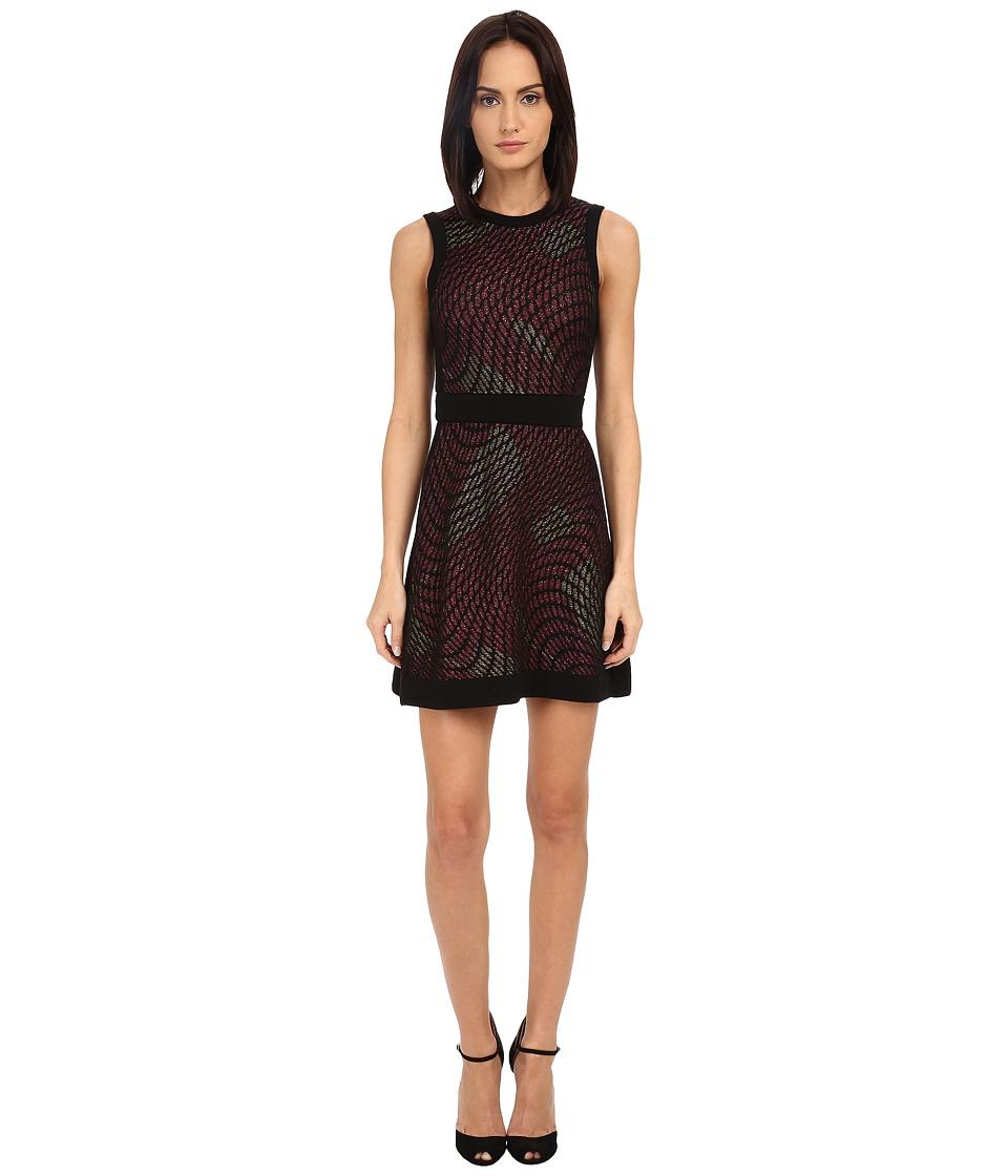 M Missoni - Lurex Web Sleeveless Dress (Fuchsia) Women's Dress
