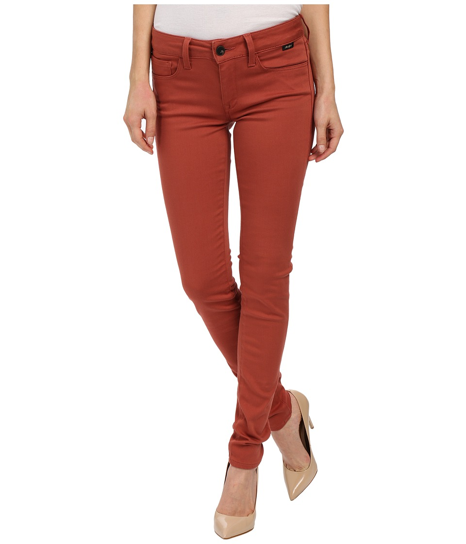 Mavi Jeans Adriana in Marsala Gold Sateen (Marsala Gold Sateen) Women